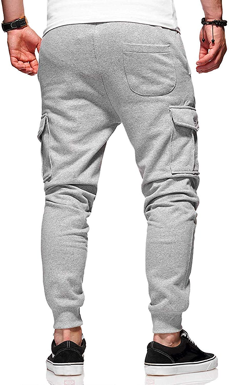 OranDesigne Homme Pantalon de Sport Jogging Pantalon Fitness Loose Mode Trousers