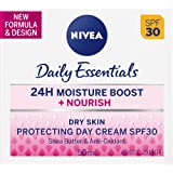 NIVEA Daily Essentials Nourish Protecting Day Cream SPF30, 50ml