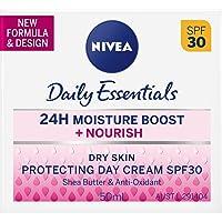 NIVEA Daily Essentials Rich Moisturising Anti-Age Day Cream SPF 30, 50 milliliters