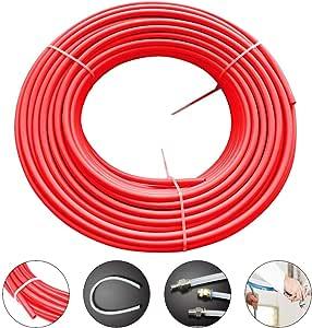 Beduan 4mm x 2.5mm Black Pneumatic Tubing Pipe PU Polyurethane Air Compressor Tubing Hose Pipe Line Fluid Transfer 32.8ft 10 Meter