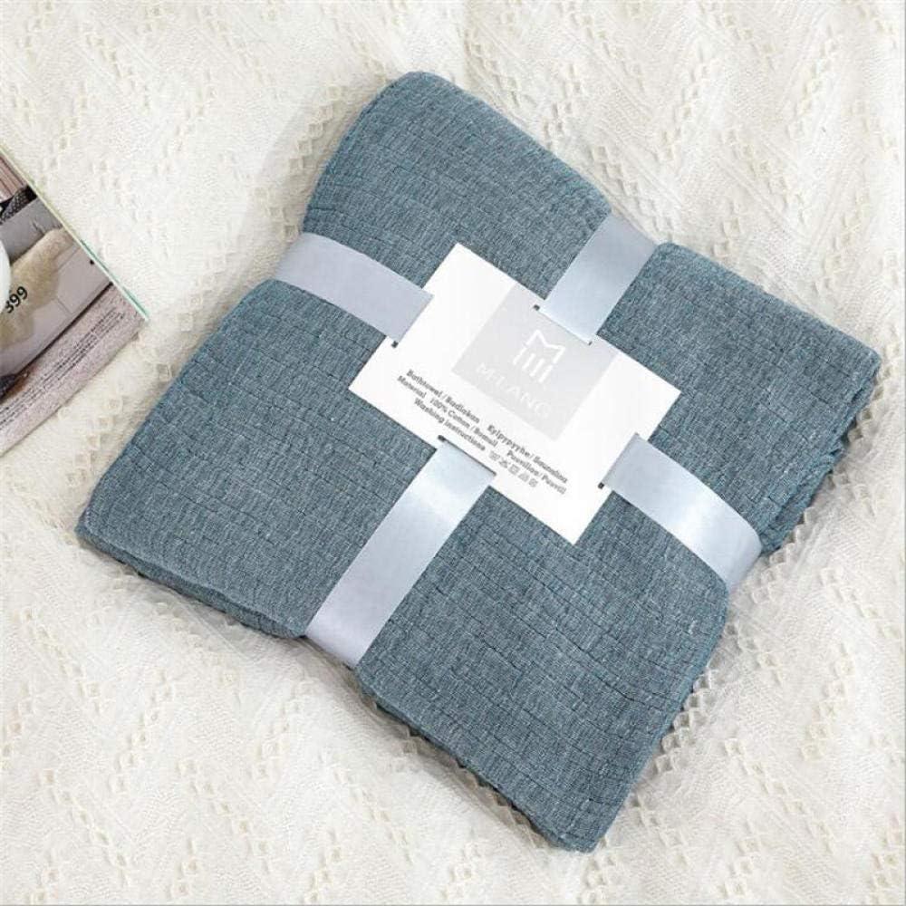 Manta de cama de muselina de algodón 100% de dos tamaños, sofá ...