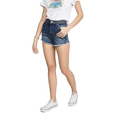 Lee Vintage Modern Women's Cutoff Shorts, Monterey, Blue, Stripe, 25 at Women's Clothing store