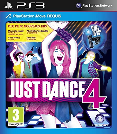 Just dance 4 [Importación francesa]: Amazon.es: Videojuegos
