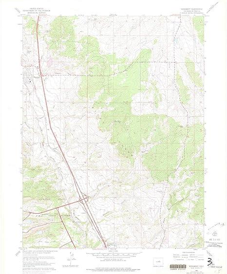 Amazon.com : YellowMaps Monument CO topo map, 1:24000 Scale, 7.5 X ...