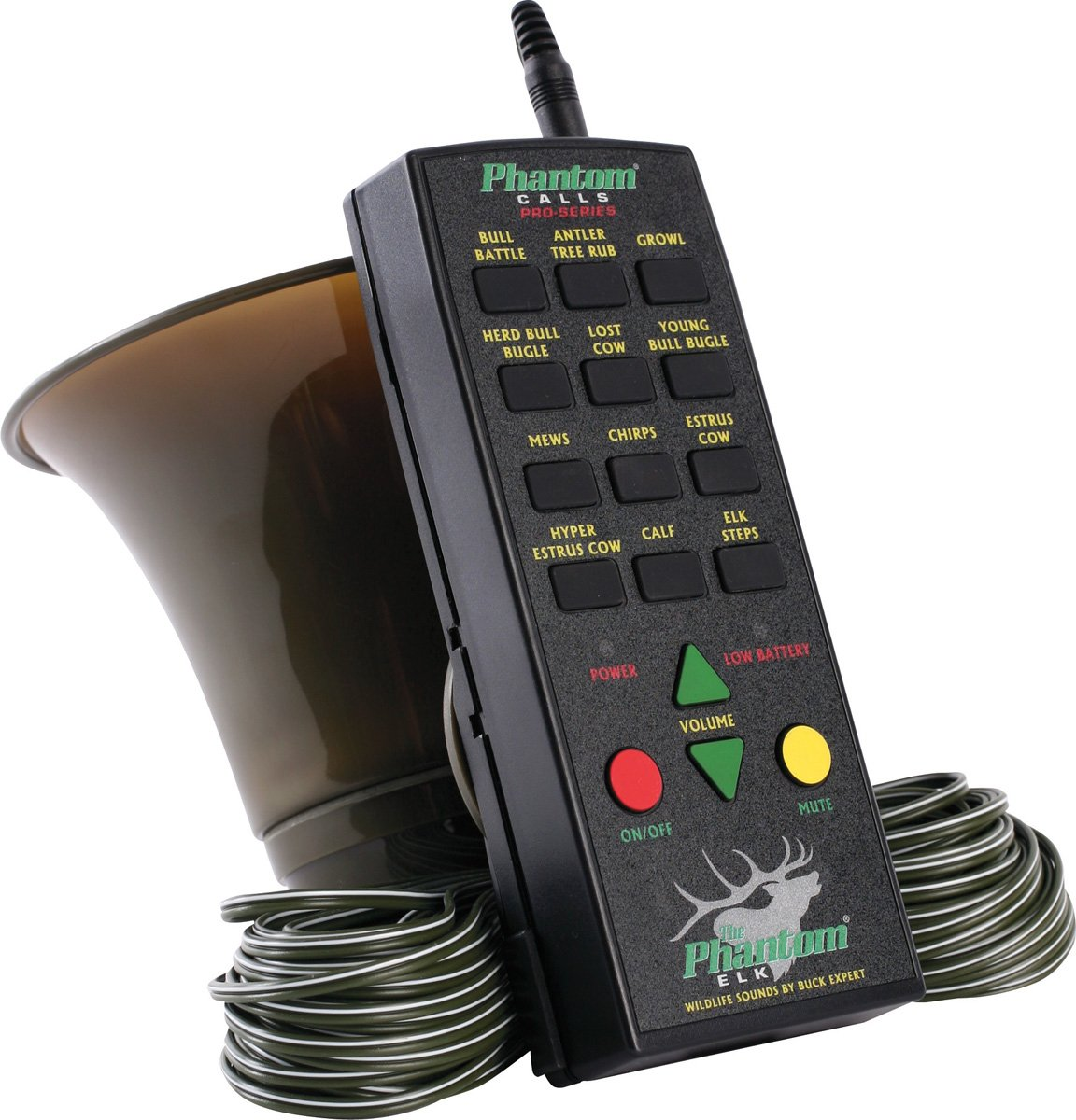 Extreme Dimension Wildlife Calls - Pro Series Wired Elk Call- EDPS250 - Wired Electronic Remote Elk Call - Up to 126 db by Extreme Dimension Wildlife
