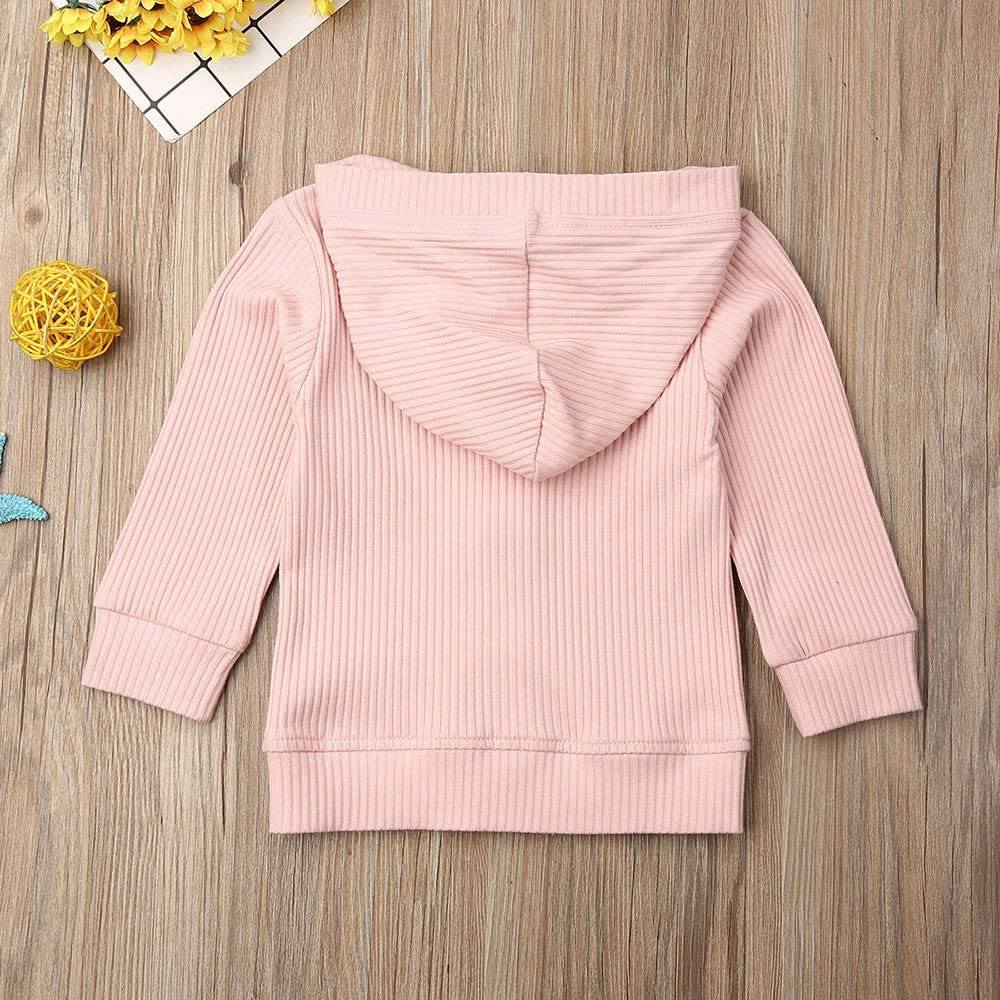 Infant Unisex Baby Girls Boys Button Down Knitwear Long Sleeve Soft Basic Knit Jacket Cardigan Sweater Coat Top Clothes