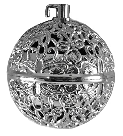 Chirping Bird Silver Colored Ball Hanging Christmas Ornament - Amazon.com: Chirping Bird Silver Colored Ball Hanging Christmas