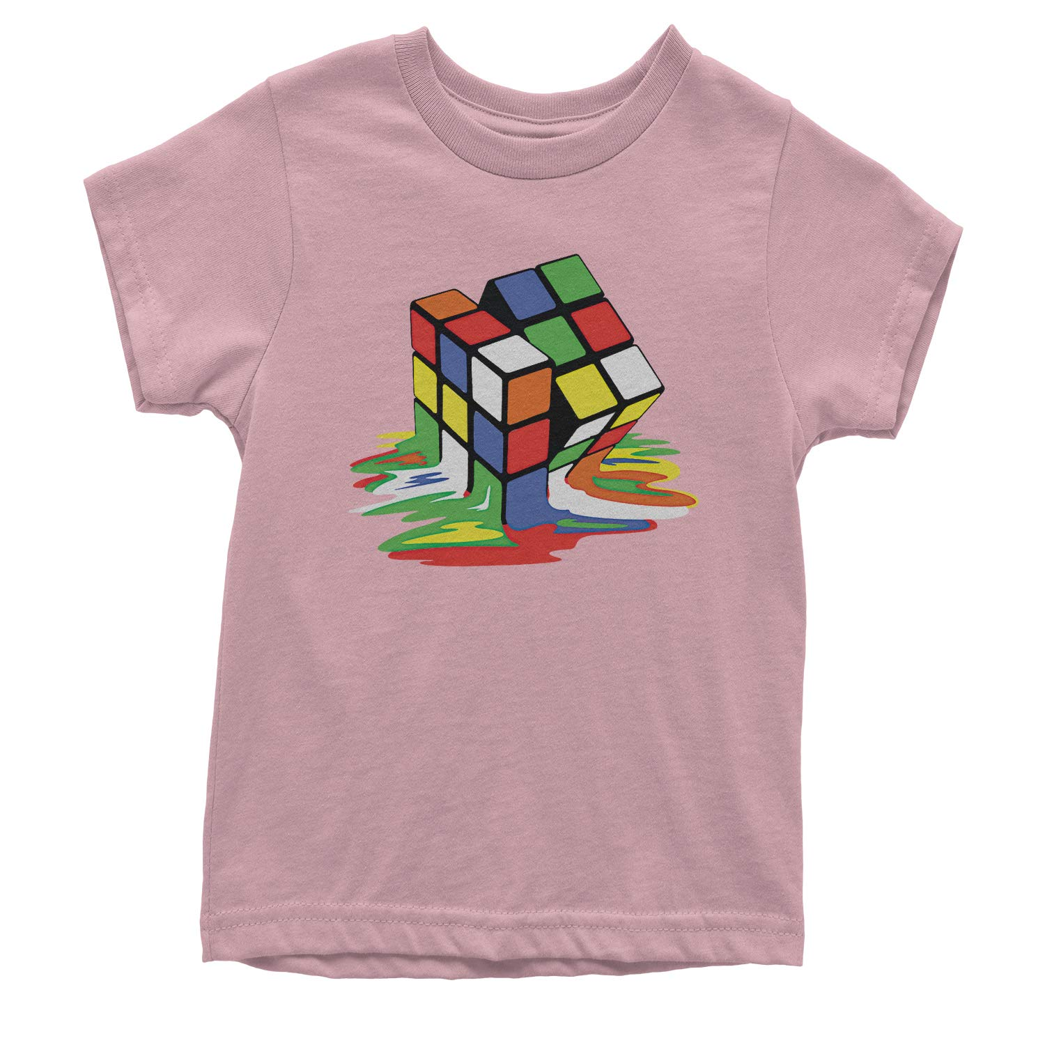Expression Tees Melting Rubiks Cube Youth T-Shirt