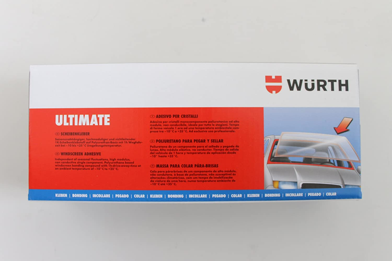 Würth 1 x - Juego de adhesivos Ultimate + 1 x Disco Adhesivo extra para todos los casos: Amazon.es: Coche y moto