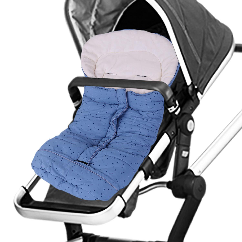 Hibabys Waterproof Baby Sleeping Bags Stroller Universal Footmuff Winter Bunting Bag