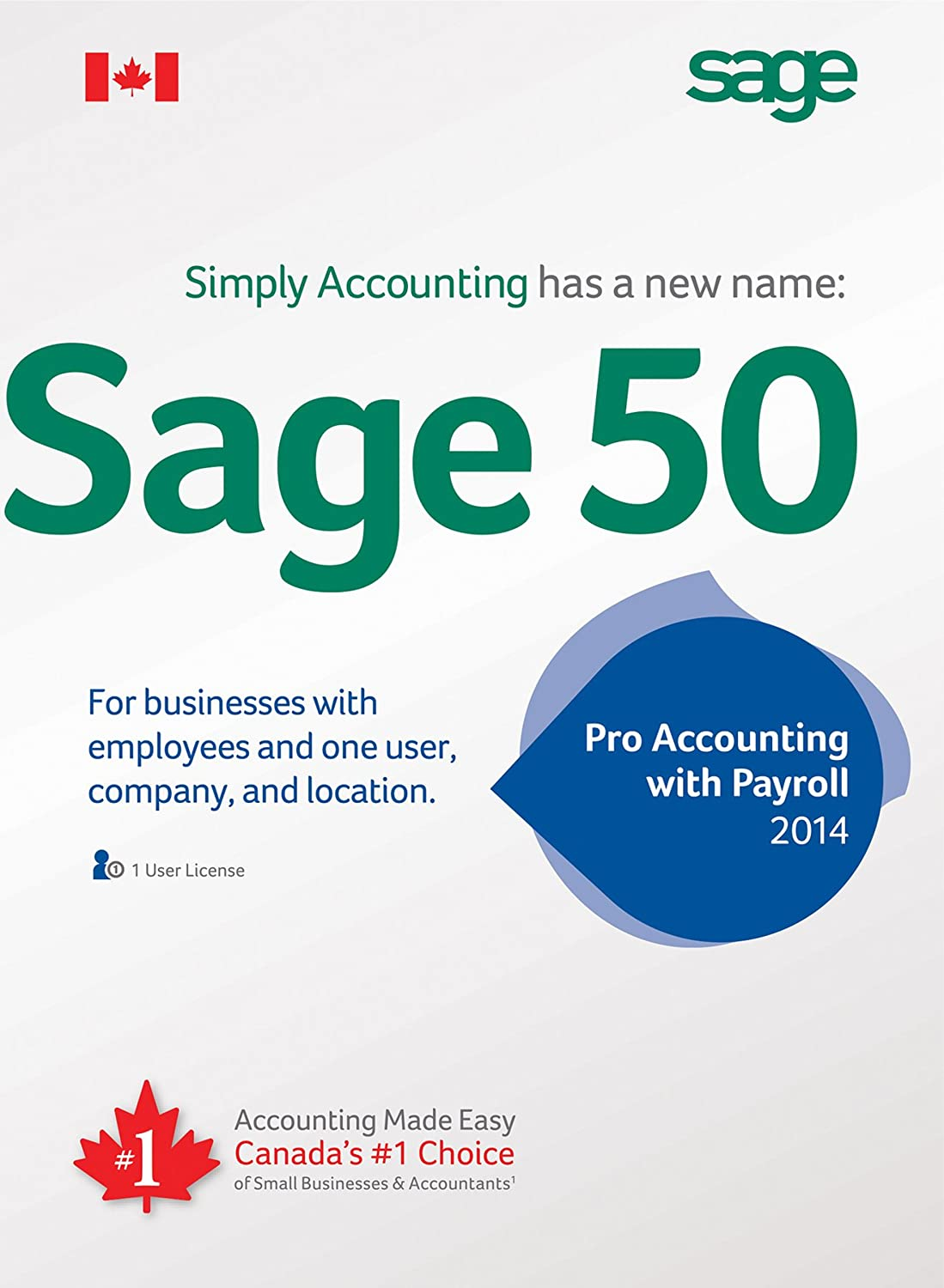 Sage 50 Pro with Payroll Accounting 2014