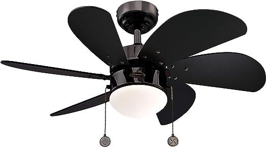 Westinghouse Lighting Turbo Swirl Ventilador de Techo, Acabado en ...