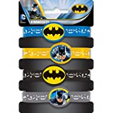 Unique Party 49931 - Batman Silicone Wristband Party Bag Fillers, Pack of 4