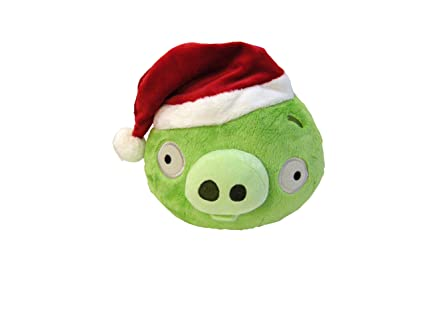 angry birds 5 limited edition christmas plush piglet - Christmas Angry Birds