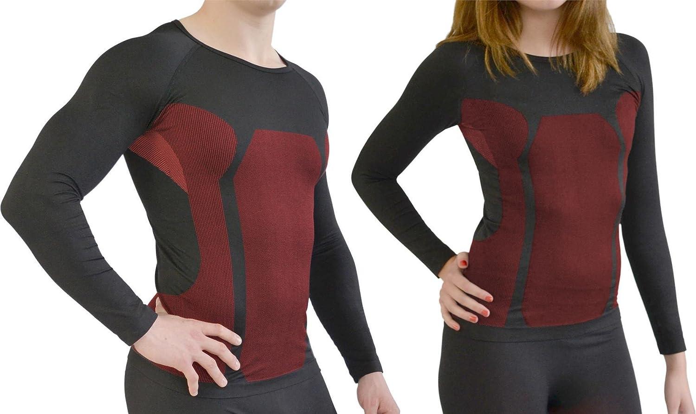 normani Sport Funktionswäsche für Damen und Herren - Ski Unterwäsche mit Elasthan