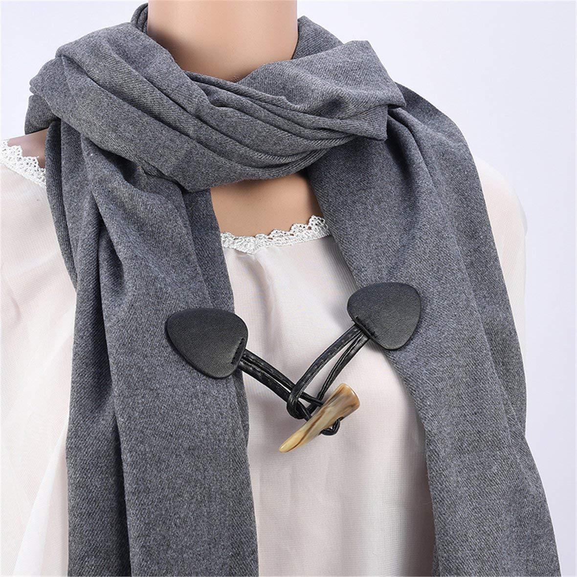 Monllack Speciale Design Sciarpa Accessori Fibbia Spilla Semplice Tre Cristalli di Cristallo Scialle Fibbia per Le Donne