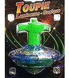 TOUPIE LUMINEUSE SON + LANCEUR TOURNE ET S'ILLUMINE JOUET