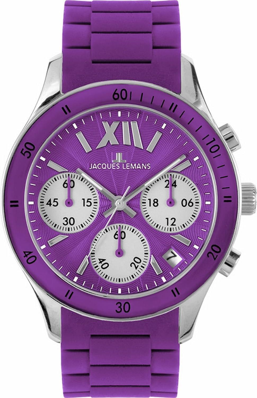 [ジャックルマン] Jacques Lemans 腕時計 Sport スポーツ クォーツ 1-1587K レディース [高級セーム革セット]【並行輸入品】