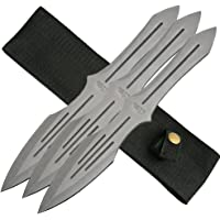 SZCO Supplies 3Pc Throwing Knife Set