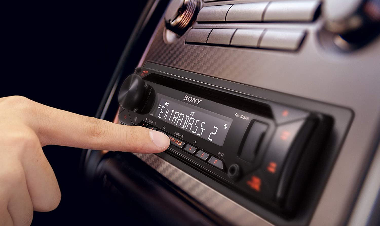 Amber CD player, USB//AUX input, 4x 55 W, extra bass Sony CDXG1301U.EUR car stereo