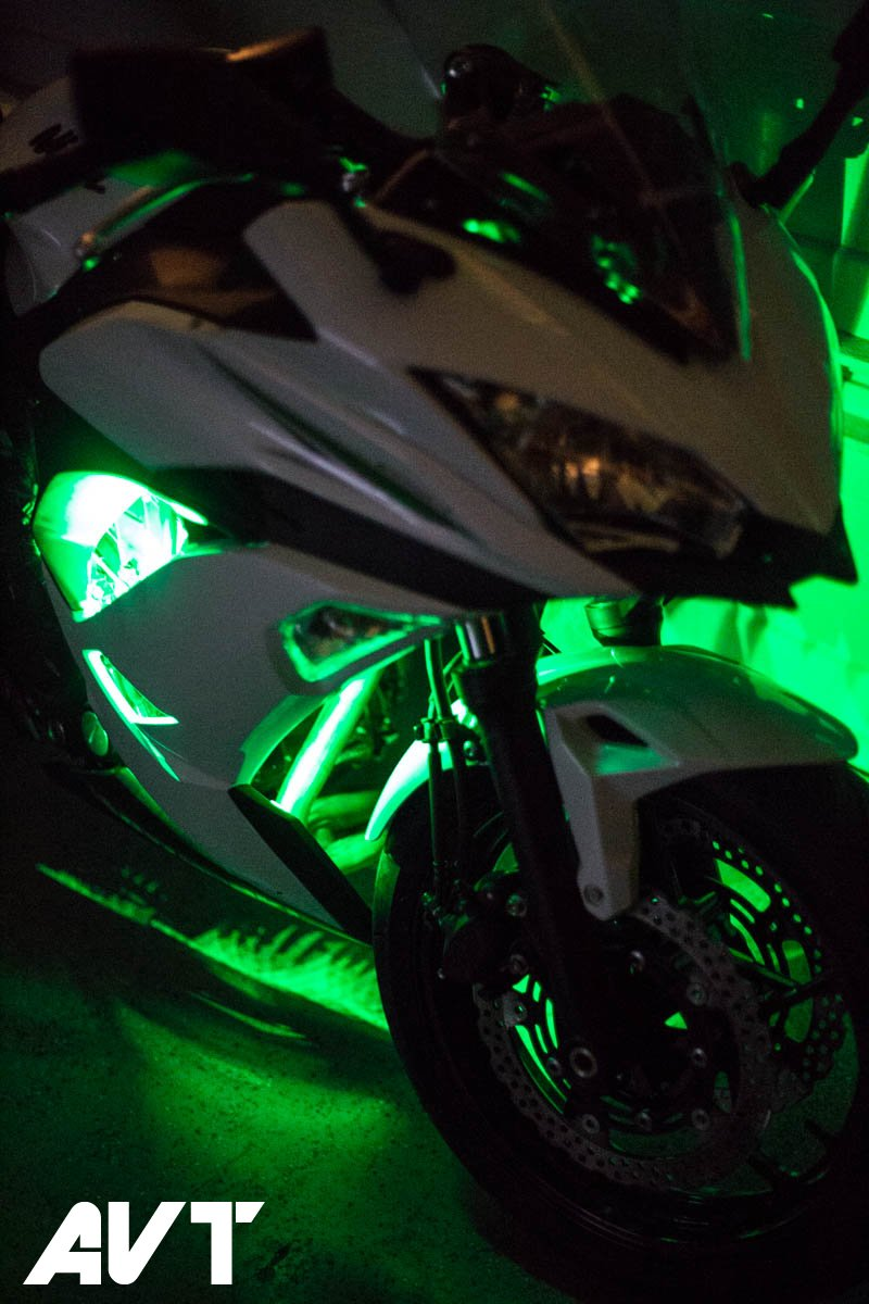 AVT Ninja 650 Body Glow LED Light Kit 2017-2018