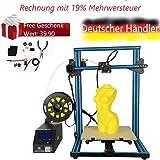 Creality 3D® CR-10S DIY 3D Drucker Satz 300 * 300 * 400mm Druckgröße mit Z-Achse Dual T Schraubstange Motor Filament Detektor 1.75mm 0.4mm Düse CR-10S DIY 3D Printer Kit 300*300*400mm Printing Size Wi