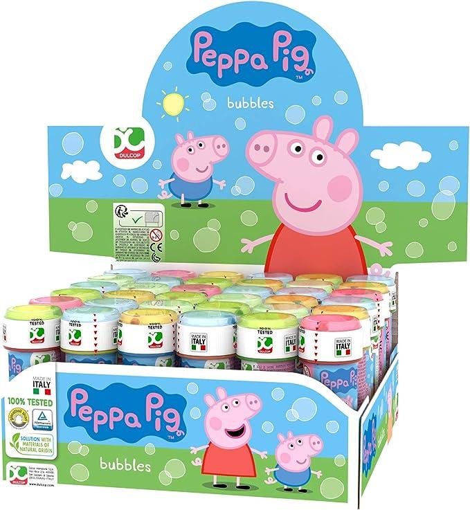 ColorBaby Pig Lot de 36 Bulles de Savon Peppa, 60 ml, Unidades (25): Amazon.es: Juguetes y juegos