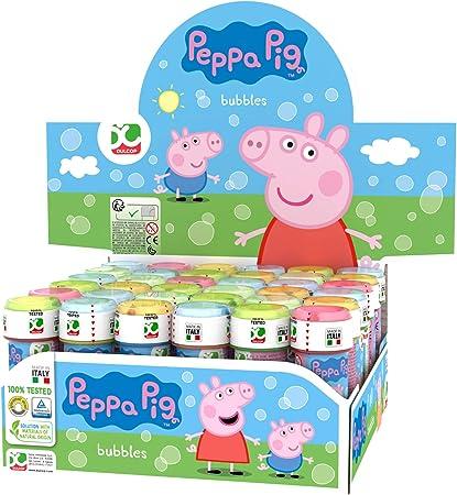 ColorBaby Pig Lot de 36 Bulles de Savon Peppa, 60 ml, Unidades (25 ...
