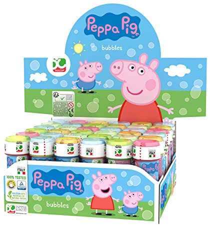 Amazon.com: Export.CM 60 Millilitre Bubbles Peppa Pig: Toys ...