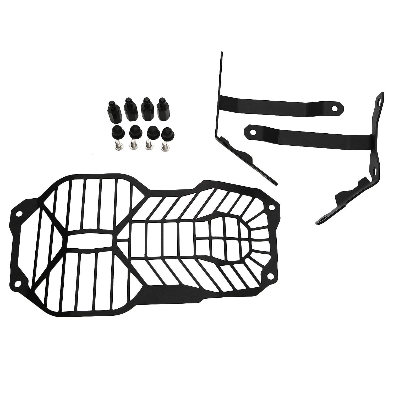 CICMOD Aluminum Front Headlight Grille Protector Cover with Mounting Bracket Kit For BMW F650GS F700GS F800GS from 2008 to 2017