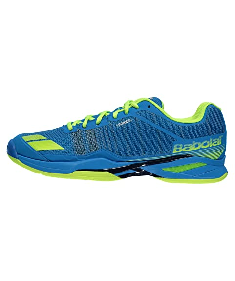 ZAPATILLAS BABOLAT JET TEAM AC AZUL AMARILLO: Amazon.es: Zapatos y complementos