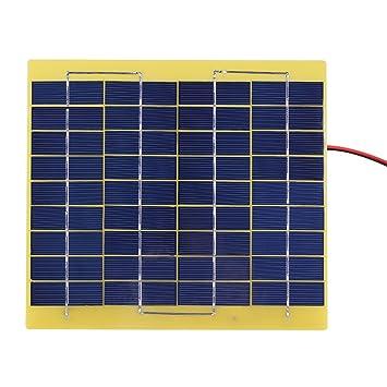 Zerodis Kits solares, Cargador Solar del Panel Solar de 5W ...