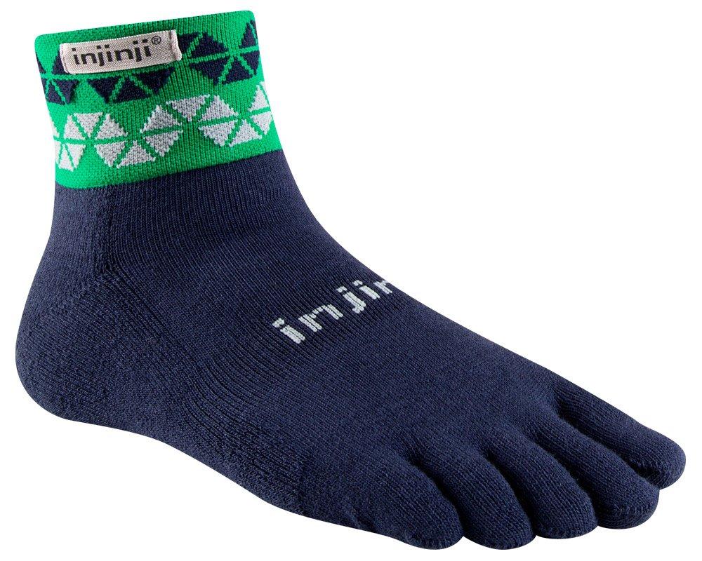Amazon.com : Injinji Men's Trail Midweight Mini Crew Toesocks : Running  Socks : Clothing