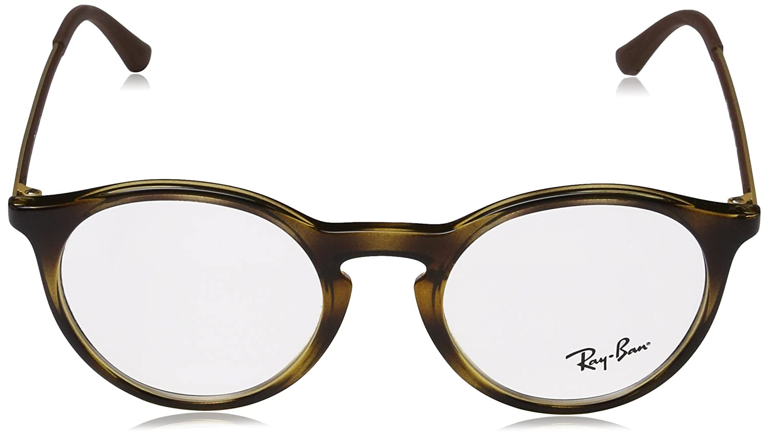 Unisex-Adults 7118 Optical Frames, Negro, 48 Ray-Ban