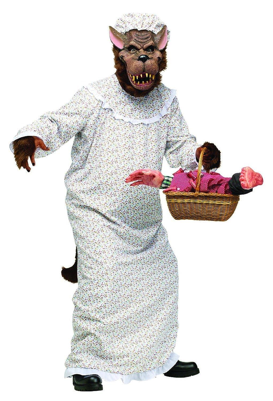 Amazon Com Big Bad Granny Wolf Adult Os Clothing