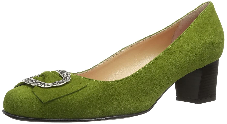 Diavolezza Celine, Zapatos de Vestir de Ante, Mujer 41 EU|Verde (Olive)