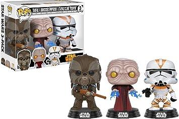 Funko ¡ POP! Star Wars Tarfful,unhooded Emperador,Utapau SOLDADO ...