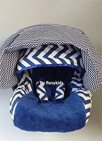 Amazon Com Rosy Kids Infant Carseat Canopy Cover 4pc Whole