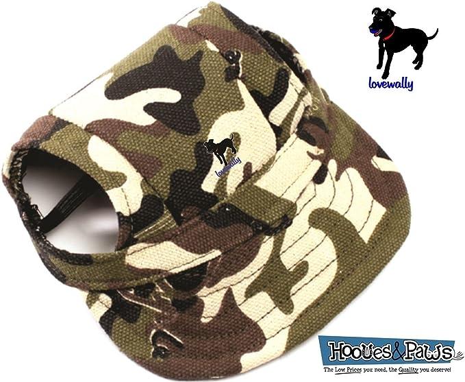 camo dog hat