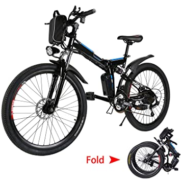 Amazon.com: Emdaot Power Plus bicicleta eléctrica de montaña ...