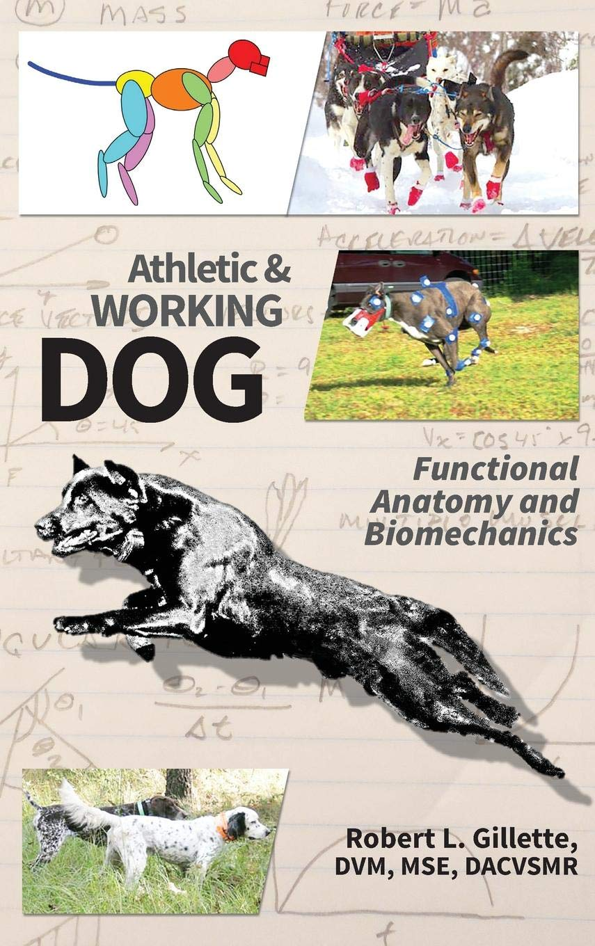 Athletic and Working Dog: Functional Anatomy and Biomechanics by RMG Enterprises, Inc.