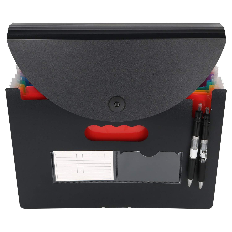 Trieur A4 - Trieur Papiers Organiseur Documents Trieur Extensible Accordéon Document Avec Plastique Fichier de ABC life (24 poches)