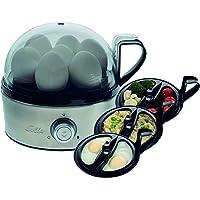 Solis Egg Boiler & More 827 - Eierkoker Electrisch en Groentestomer - Tot 7 Gekookte Eieren - Geschikt voor Gepocheerde…