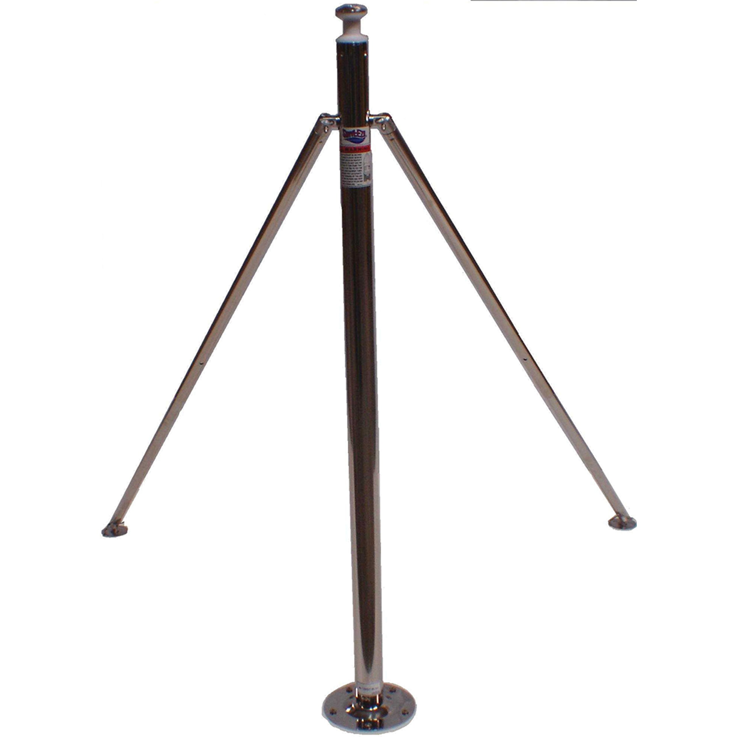 Attwood 923-009 Stainless Steel Ski Pylon - 45'' Fixed Height x 2'' Diameter by attwood (Image #1)