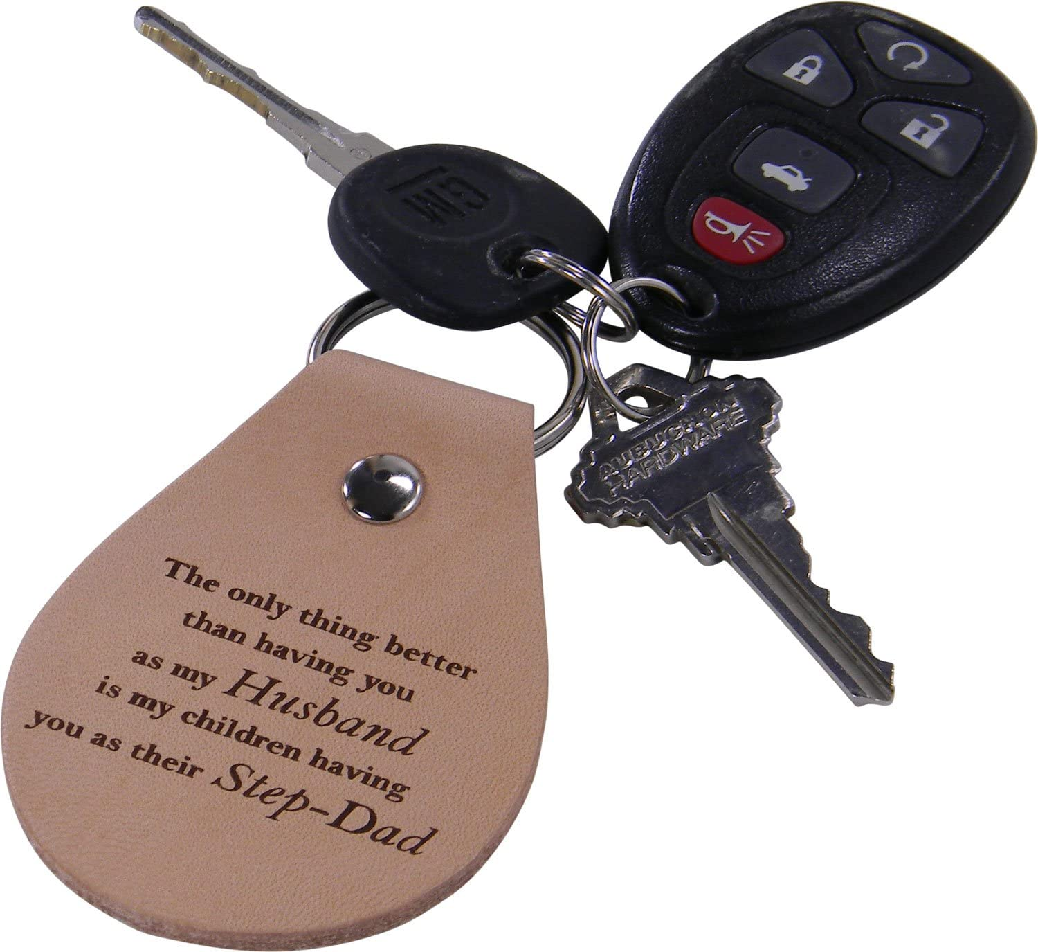 CustomGiftsNow Only Thing Better Than Having You as My Dad is My Children Having You as Their Poppop Leather Key Chain