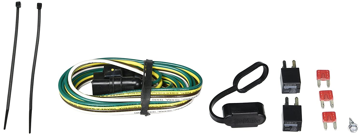 Hopkins 41265 Plug In Simple Vehicle To Trailer Wiring Chevy Equinox Hitch Kit Automotive