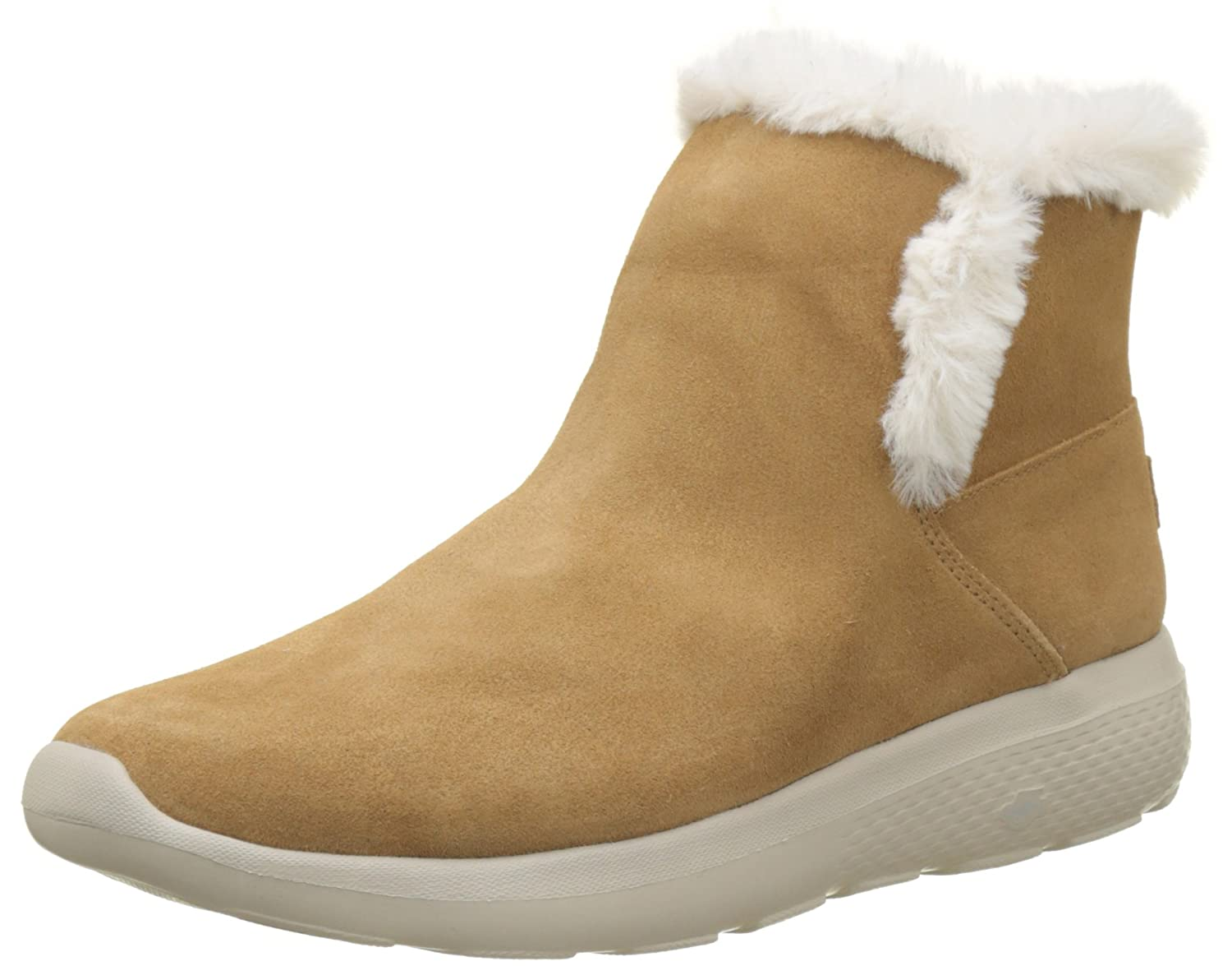 Skechers Damen on-The-Go City 2 Chukka Boots, Char  38.5 EU|Beige (Chestnut)