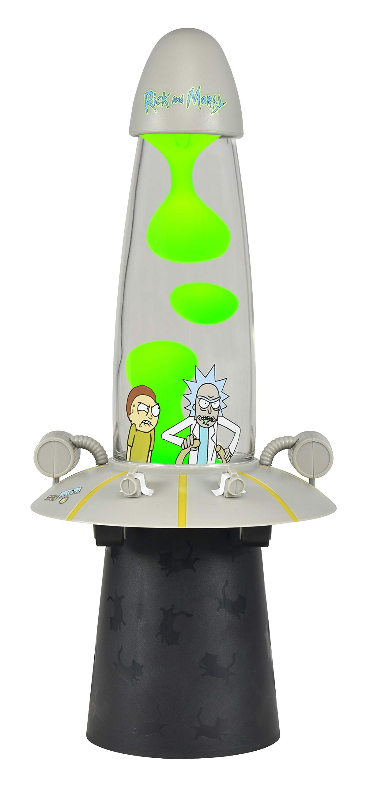 Rick & Morty Space Cruiser Motion Lamp