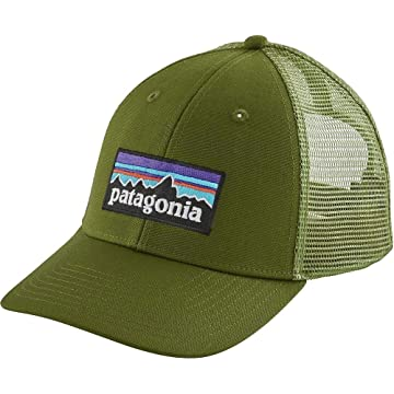 powerful Patagonia P-6 Logo LoPro Snapback Trucker Hat