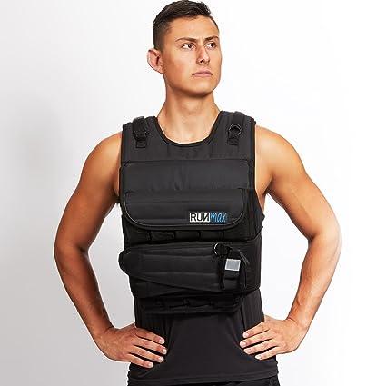 f9ee94597 Amazon.com   RUNFast Max 12lbs-140lbs Adjustable Weighted Vest ...